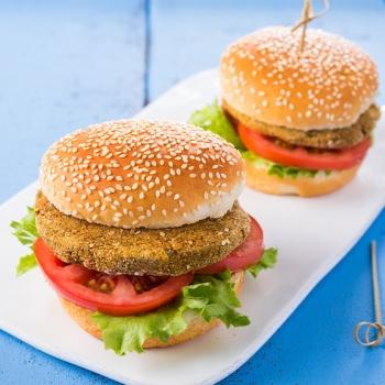 Chickpea hamburgers