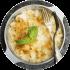 Cream sauce cod