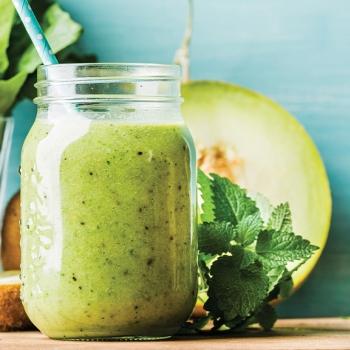Bebida detox verde