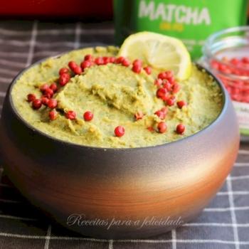 Hummus de Matcha