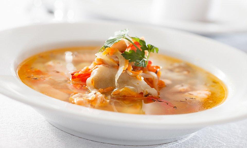 Sopa de peixe à Algarvia